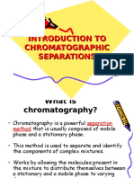 Introduction to Chromatographic Separations (1)