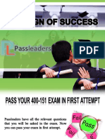 Passleader 400-151 Questions Answers