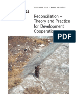 Reconciliation Theory and Practice