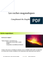 Les Roches Magmatiques