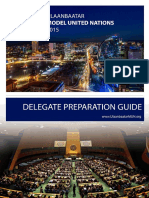 UBMUN 2015 Delegates Preparation Guide