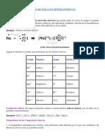 Tipos de Enlaces Interatómicos - 5to Sec