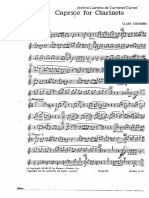 Caprice for Clarinets(Clare Grundman)