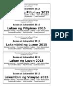 Sticker Ng Lakan at Lakambini