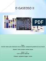 Exposicion de Quimica Gases
