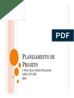 2.1 - Planejamento de Projeto