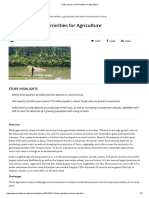 India_ Issues and Priorities for Agriculture