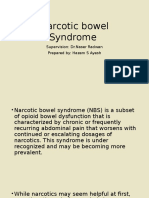 Narcotic Bowel Syndrome