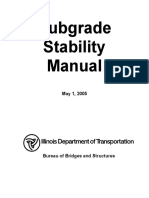Subgrade Stability Manual
