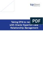 Taking EPM to New Levels With Oracle Hyperion Data Relationship Management