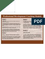 Mike's Professional Development Models