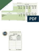 Calcular Preço de Venda de um Produto.xlsx