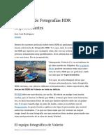 2 Minutos de Fotografias HDR Impresionantes