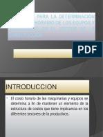 ELEMENTOS PARA LA DETERMINACION DE COSTOS HORARIO clase 03.pptx