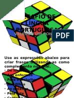 DESAFIO DE LÍNGUA PORTUGUESA.pptx