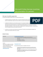 Microsoft Online Services Incentives Documentation