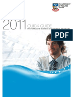 2011 Business & Economics Postgraduate Quick Guide