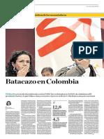 Batacazo en Colombia