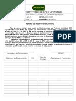 Ficha de Controle de Epi e Uniforme