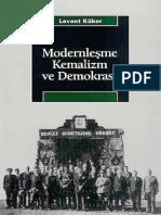 Levent Köker - Modernizm, Kemalizm Ve Demokrasi