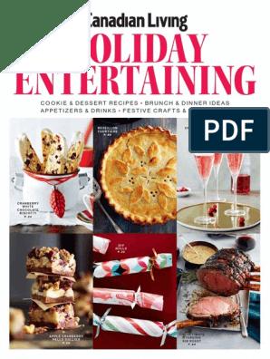 Canadian Living Holiday Entertaining 2016   Baking   Dough