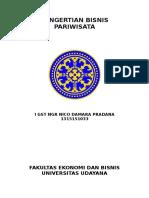 PENGERTIAN BISNIS PARIWISATA 2016.docx