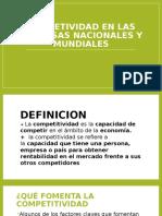 Competividad en Las Empresas Nacionales y Mundiales