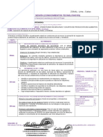 Planes de Sesion de Operatividad de Máquinas y Equipos de Producción de Alimentos Bdop 2016 III Semestre