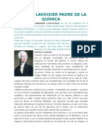 Antoine Lavoisier Padre de La Química