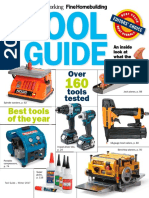 Fine Wood Working Tool Guide 2016