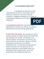 Propiedad Intelectual (Exposicion)