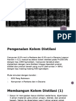 Latihan Distilasi