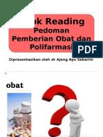 Book Reading Pedoman Pemberian Obat Dan Polifarmasi