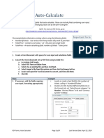 PDF Forms AutoCalculate