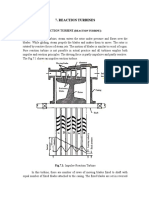Unit 4(Reaction Turbines.) 1