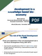 13 Rural Development in a Knowledge-based Bio-economy