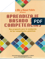 Aprendizaje Competencias