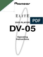 Manual instrucciones DVD Pioneer DV-05.pdf