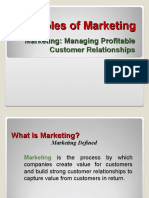 Principles of Marketing - Chapter 1