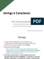 06 - Strings e Caracteres