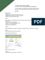 Planul de Acțiune Pentru Ora de Programare