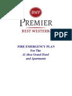 BWP Al Ahsa Fire Plan