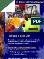 Automotive Base Oil Presentation