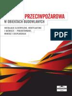 Ochrona Przeciwpozarowa w Obiektach Budowlanych Instalacje Elektryczne Wentylacyjne i Gasnicze - Projektowanie Montaz i Eksploatacja Demo