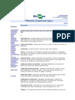 Glossario Embrapa Pimenta
