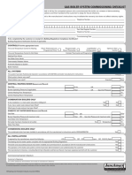 Gas Boiler System Commissioning Checklist Service Record V2 0409