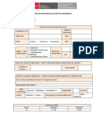 Ficha de Monitoreo de La Práctica Pedagógica Prim