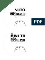CDS Plantilla Tio El Minuto Mas Importante