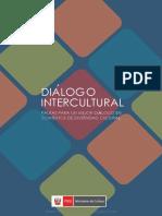 Dialogo Intercultura Pautas Para Un Mejor Diálogo en Contextos de Diversidad Cultural