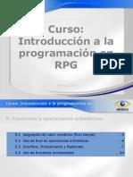 Introducción a La Programación en RPG - 5
